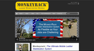 Monkeyrack Ladder Stabilization System