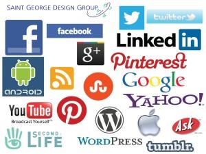 Saint George Design, Social Media Marketing Chart